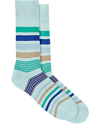 Paul Smith Joni Striped Mid Calf Socks