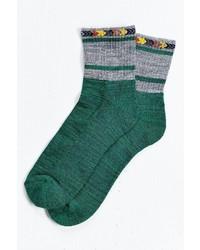 Southwestern Stripe Ankle Sock