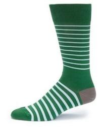 Striped cotton blend socks medium 606773