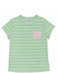 Brooks Brothers Fleece Girls Striped T Shirt