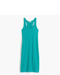 J.Crew Racerback Tank Dress In Stripe