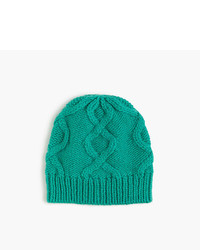 J.Crew Cable Hat In Italian Wool Blend