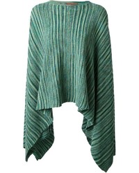Missoni zig zag crochet knit poncho medium 127364