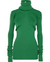 Marni Ribbed Knit Turtleneck Sweater