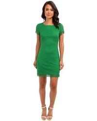 Cap sleeve lace dress medium 64207