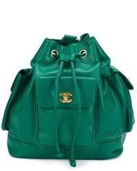 Chanel vintage bucket backpack medium 630646