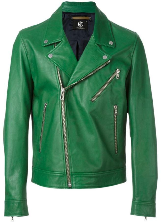 ... Leather Biker Jackets Paul Smith Ps Biker Jacket