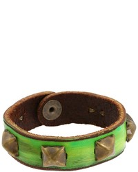 Leather couture by jessica galindo studded petite cuff medium 130119