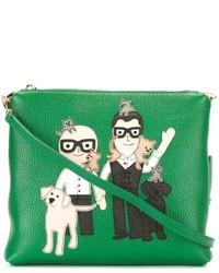 Dolce & Gabbana Designer Patch Clutch