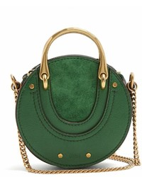 Chloé Chlo Pixie Mini Leather And Suede Cross Body Bag