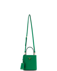 Prada Green Small Double Bag