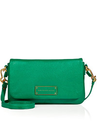 b79561c67b ... Marc by Marc Jacobs Leather Crossbody Bag In Soccer Pitch Green