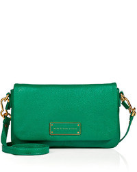 a21754cfcdb7 ... Marc by Marc Jacobs Leather Crossbody Bag In Soccer Pitch Green