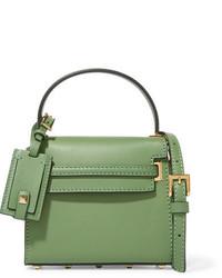 Valentino My Rockstud Micro Leather Shoulder Bag Leaf Green