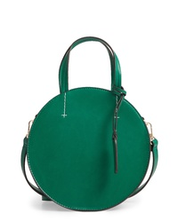 Sole Society Palermo Can Faux Leather Circle Crossbody Bag