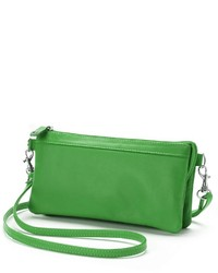 Rr Leather Convertible Mini Crossbody