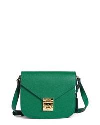 MCM Small Rgb Leather Shoulder Bag