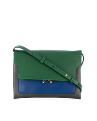 Marni Two Tone Foldover Shouldr Bag