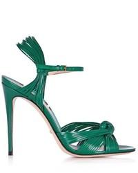 Gucci Allie Leather High Heel Sandals