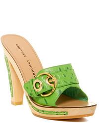 Chinese Laundry Amore Platform Heel Leather Sandal
