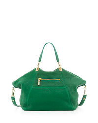 Elizabeth and james cynnie leather satchel bag green medium 93882