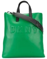 DKNY Embossed Logo Tote