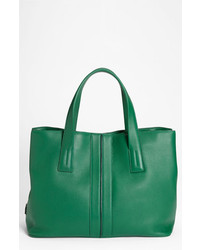 Tod's Eastwest Tote Bag Green One Size
