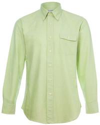 Harry Stedman Reed Green Oxford Shirt