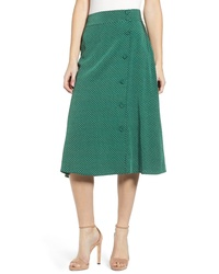 Chelsea28 Print Midi Skirt