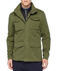 Green Military Jacket