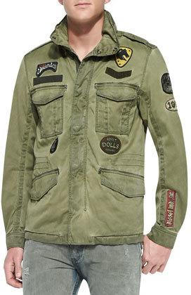 Jack and jones military jacket