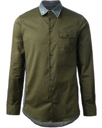 DSquared 2 Bi Colour Shirt
