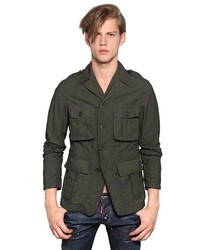 DSquared Wired Cotton Military Jacket