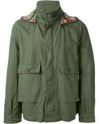 Golden goose deluxe brand washed military jacket medium 128358