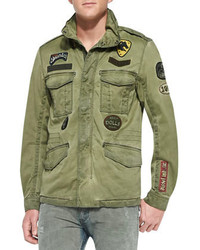 Diesel J Amma Military Jacket W Patches