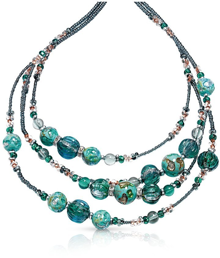 $152, Antica Murrina Veneziana Antica Murrina Elizabeth 1 Murano Glass  Necklace