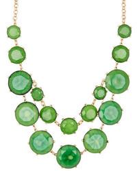 Natasha Accessories Faceted Round Necklace
