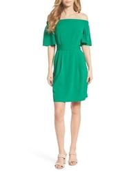 Eliza J Off The Shoulder Obi Dress