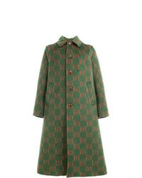Gucci Gg A Line Coat