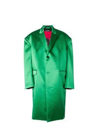 Raf Simons Satin Oversized Coat