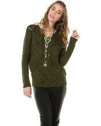 BB Dakota Jack By Cody Oversize Cable Sweater
