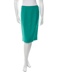 Nina Ricci Wool Pencil Skirt W Tags