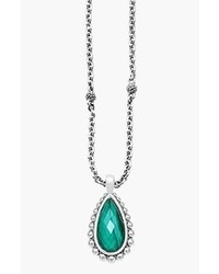 Lagos Maya Teardrop Pendant Necklace