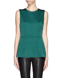 Green peplum top original 3995192