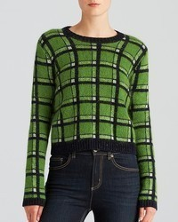 Marc by Marc Jacobs Sweater Prudence Plaid Reversible