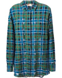 Plaid oversize shirt medium 134720
