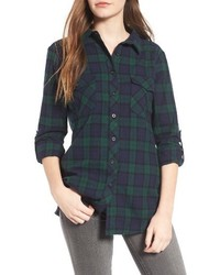 Thread supply odessa plaid shirt medium 1101626
