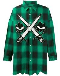 Haculla Embroidered Check Shirt