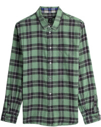 Marc by Marc Jacobs Plaid Button Down