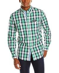 Men's Green Plaid Long Sleeve Shirts by U.S. Polo Assn. | Men's ...